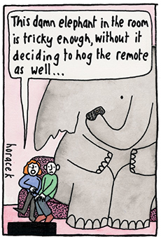 Horacek-elephantinroom