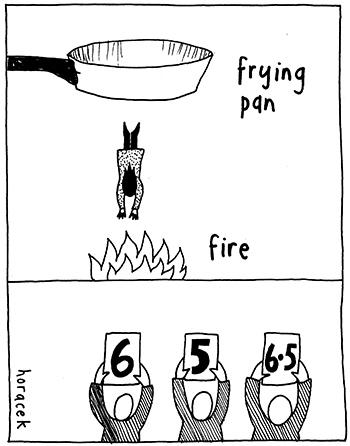 10-HORACEK-frying-pan_fire-350