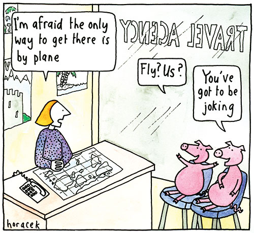 horacek02-pigs-at-travel-agent-col-500