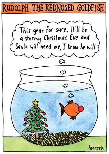horacek-14-rednosed-goldfish-cathtate-2012-350