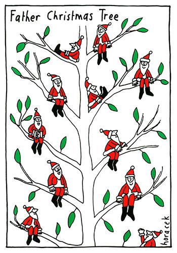 horacek-18-father-christmas-tree-350