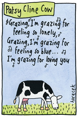 Horacek-03-Patsy-Cline-Cow-300