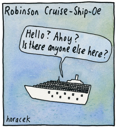 08--Horacek--Robinson-Cruise-Ship-Oe-col-400