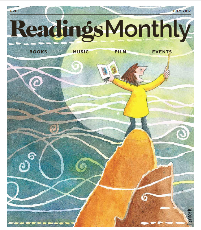 Random Life on Readings Monthly cover